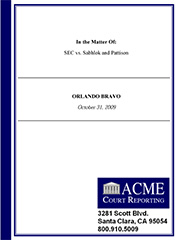 Branded Cover Page